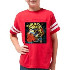 Buck Rogers Fight Youth Football Shirt