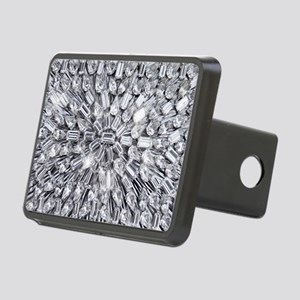 Radial Rhinestone Bling Rectangular Hitch Cover