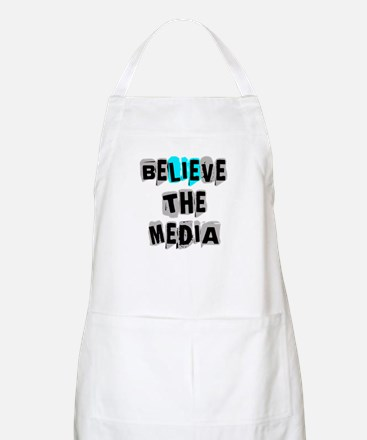 Believe the Media | Apron