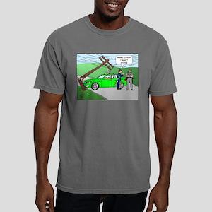 Autonomous Car Mens Comfort Colors Shirt