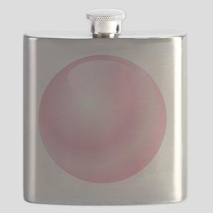 Pink Bubblegum Bubble Flask