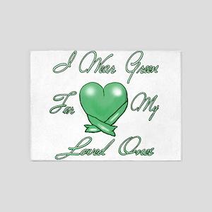 I wear Green 5'x7'Area Rug
