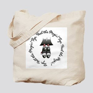 Toe Stand - Tap, Feel the Mag Tote Bag