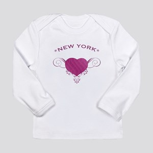 New York State (Heart) Gifts Long Sleeve Infant T-