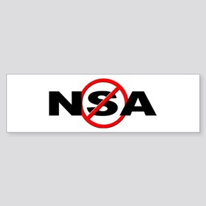 Anti / No NSA Sticker (Bumper)