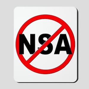 Anti / No NSA Mousepad