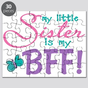 Little Sister BFF Butterfly Puzzle