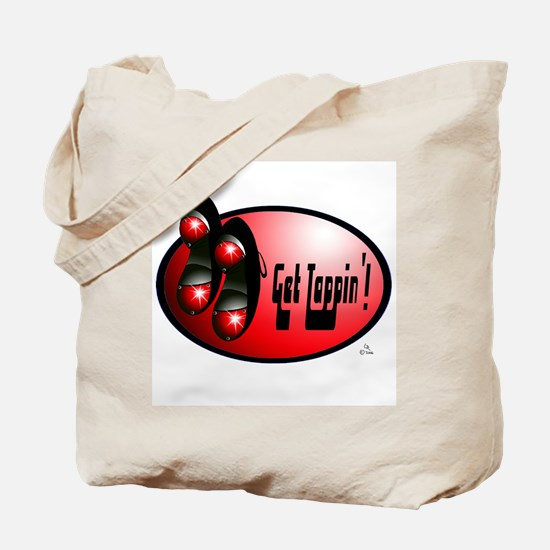 Sparkling Red - Get Tappin' Tote Bag