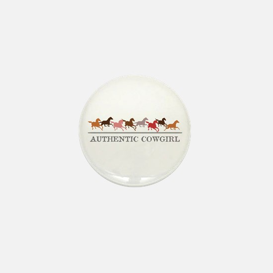 Authentic Cowgirl Mini Button (10 pack)