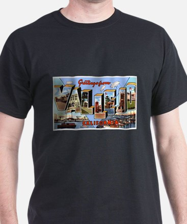 Vallejo California Greetings (Front) T-Shirt