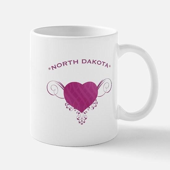 North Dakota State (Heart) Gifts Mug