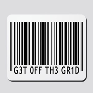 Get off the Grid | Mousepad