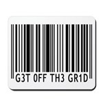 Get off the Grid   Mousepad