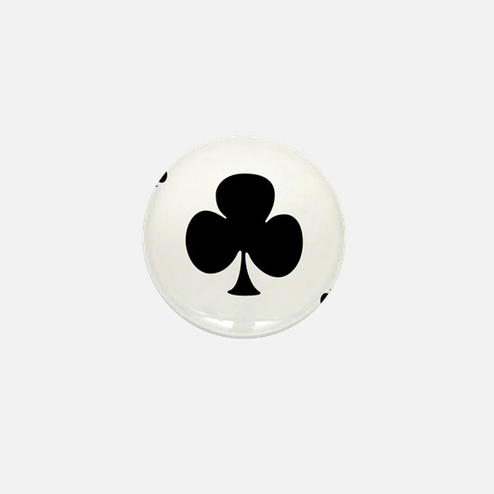 Ace of Clubs Mini Button