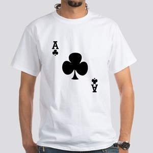 Ace of Clubs White T-Shirt
