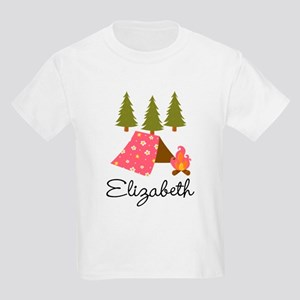 Personalized Camping Summer Camp T-Shirt