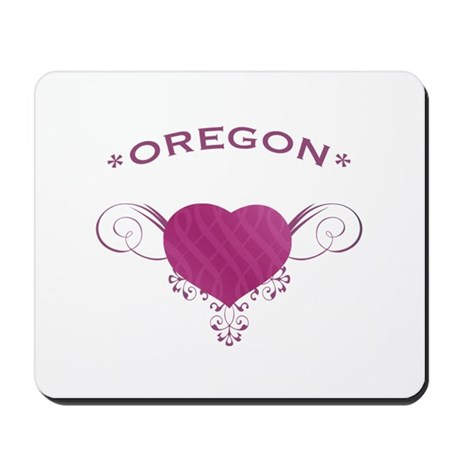 Oregon State (Heart) Gifts Mousepad