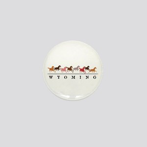 Wyoming horses Mini Button (10 pack)