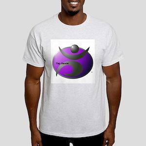Modern Metal Tap Purple Ash Grey T-Shirt