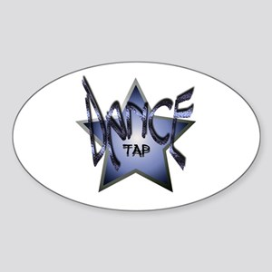 Dance Star - Tap Oval Sticker