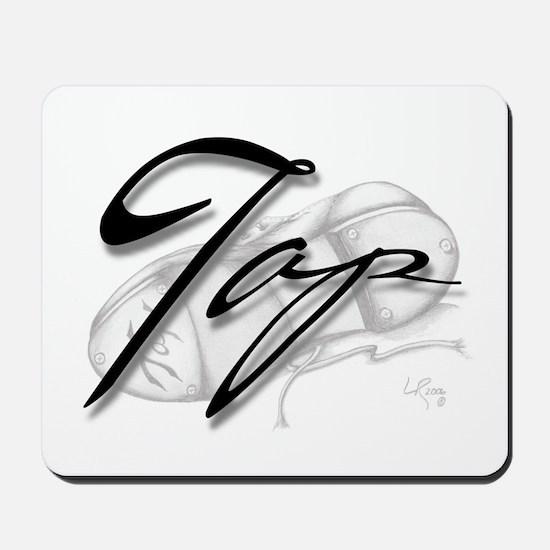 Black Tap on Shoe Mousepad
