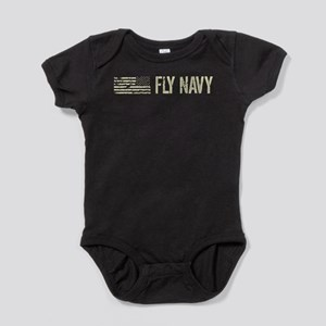 Black Flag: Fly Navy Baby Bodysuit