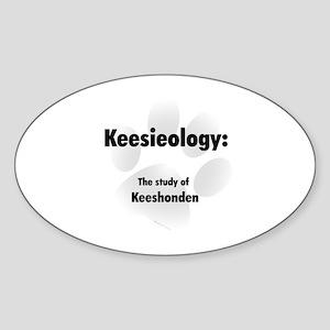 Kessieology Oval Sticker