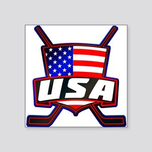 American Hockey Shield Logo Sticker
