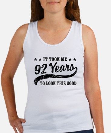 Funny 92nd Birthday Women's Tank Top