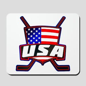 American Hockey Shield Logo Mousepad