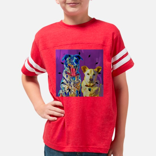 edisonclk Youth Football Shirt