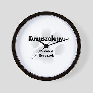 Kuvaszology Wall Clock