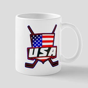 American Hockey Shield Logo Mug