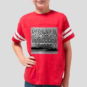 Real Men Youth Football Shirt