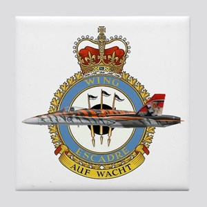 Canada's Air Force 4 Wing Tile Coaster