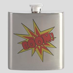 Boom!  Cartoon SFX Flask