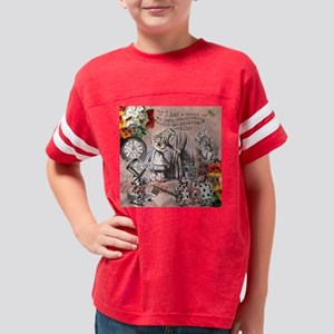 Alice in Wonderland Vintage A Youth Football Shirt