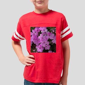 Pink Phlox Youth Football Shirt