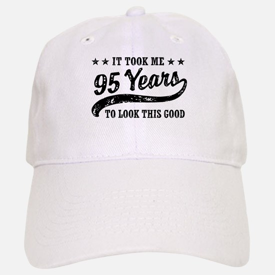 Funny 95th Birthday Baseball Baseball Cap
