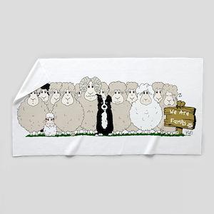 Les Moutons-Final-1 Beach Towel