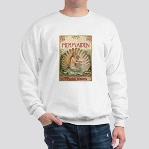 Mermaid on Shell Sweatshirt
