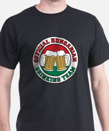 Official Hungarian Drinking Team T-Shirt