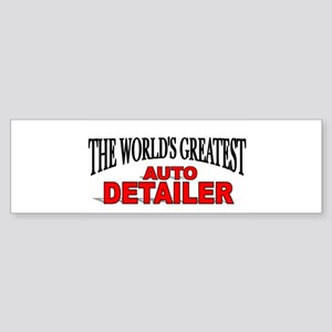 """The World's Greatest Auto Detailer"" Sticker (Bump"