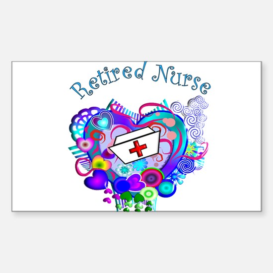 Retired Nurse Decal