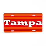 Tampa Aluminum License Plate