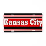 Kansas City Aluminum License Plate