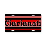 Cincinnati Aluminum License Plate
