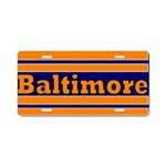 Baltimore Aluminum License Plate