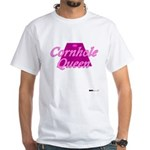 Cornhole Queen White T-Shirt