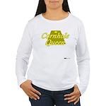 Cornhole Queen Women's Long Sleeve T-Shirt